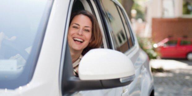 Frauen können doch besser einparken