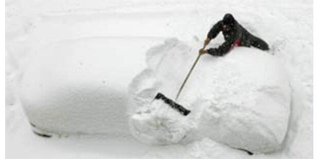 Zehn Schneetote in Mittelchina