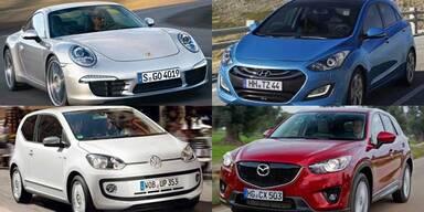 Alle neuen Autos des Jahres 2012