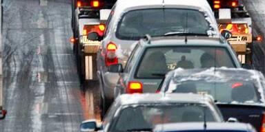 Keine Autos: keine Staus aber saubere Luft