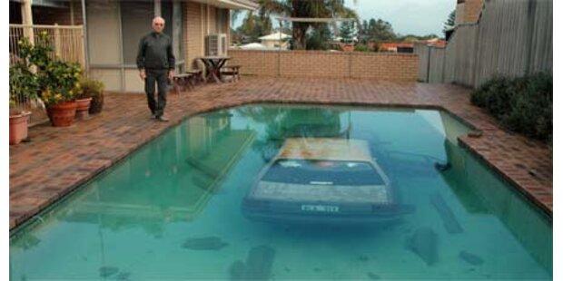 Der nasseste Parkplatz der Welt