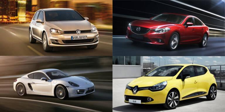 Die Auto-Highlights des Jahres 2012