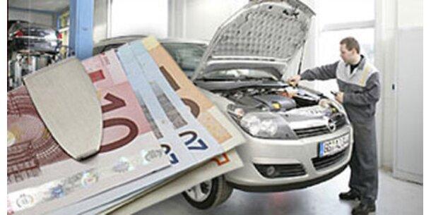 Autoreparaturen werden immer teurer
