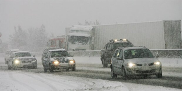 Bis zu 50 cm Neuschnee in Österreich