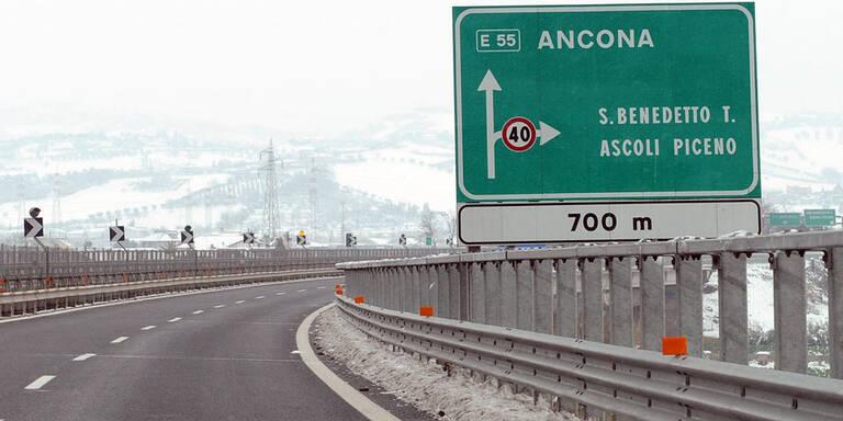 Italiener bauten 54 Jahre an Autobahn