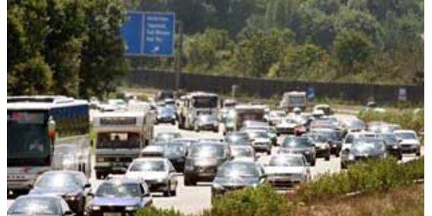 Serienunfälle auf der Westautobahn bei Melk