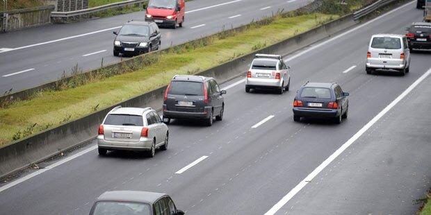 Abfahrtssperre auf A10 bleibt aufrecht