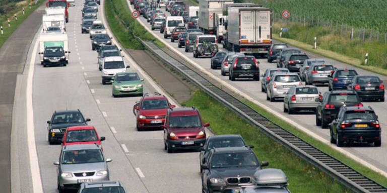 Mehr Pkw auf Österreichs Straßen