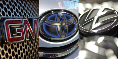 Die größten Autohersteller der Welt
