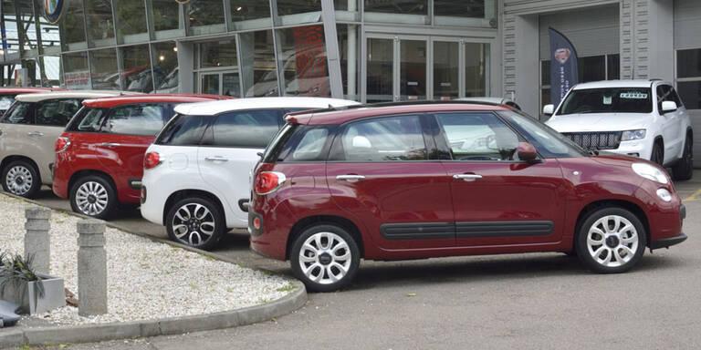 Gebrauchte Autos weniger gefragt