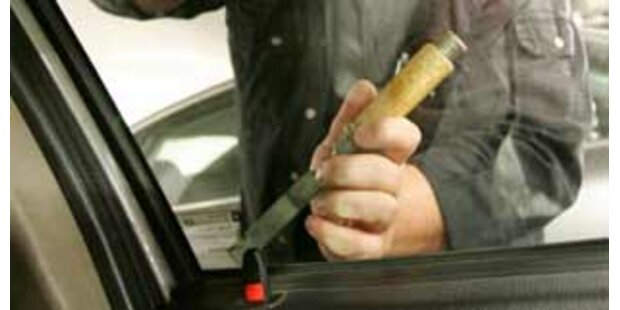 Kriminalisten schnappten Autoknacker