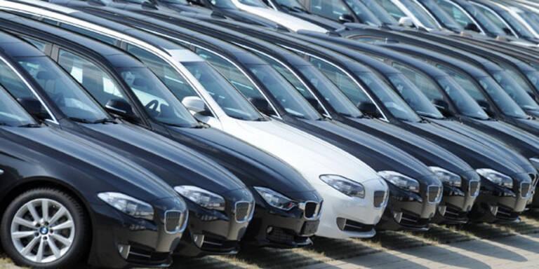 Europas Automarkt wuchs 2015 kräftig
