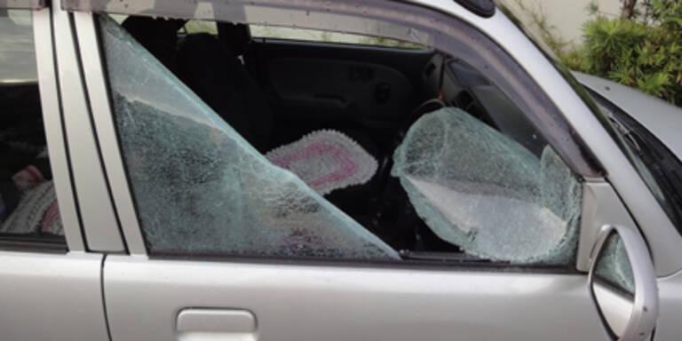 Polizei fahndet nach Auto-Einbrechern