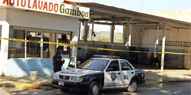 Mexiko Massaker Autowaschanlage