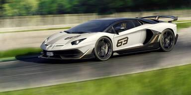 Aventador SVJ ist schnellster Lambo aller Zeiten