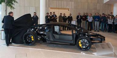 So sieht ein nackter Aventador aus