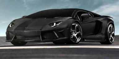 Carbonado - der Aventador von Mansory