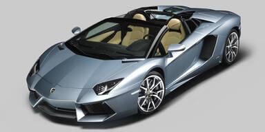 Lamborghini zeigt den Aventador Roadster