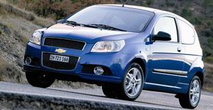 Chevrolet Aveo hinterlässt mäßigen Eindruck