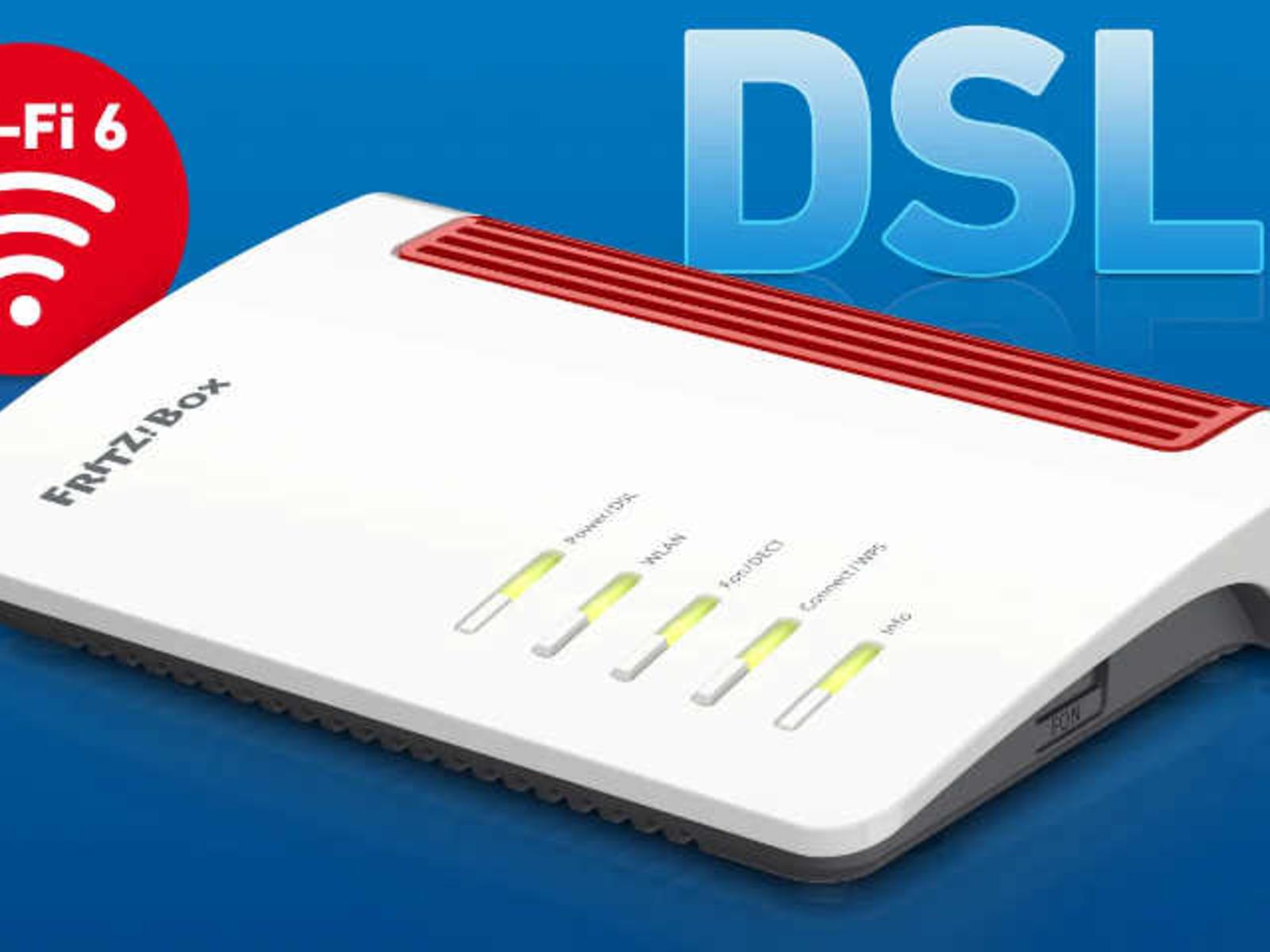 AVM FritzBox 20 AX mit WiFi 20 und 20.20 Mbit/s