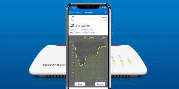 Fritz-WLAN-App endlich auch fürs iPhone