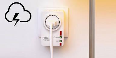 So sichern Sie Elektrogeräte vor Blitzeinschlag