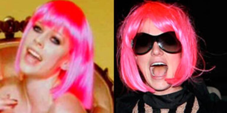 Zum Verwechseln ähnlich: Avril und Brit.