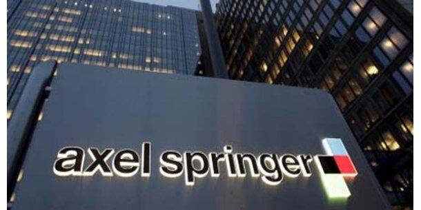Werbeflaute trifft Axel Springer