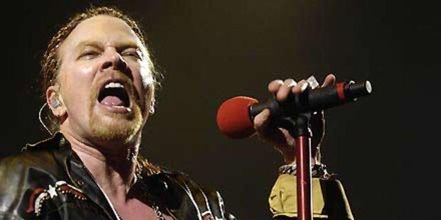 Guns'n'Roses - Erster Wien-Gig seit 1993