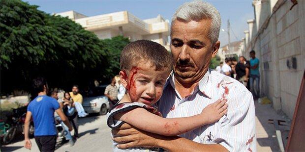 Syrien: Luftangriff auf Rebellenhochburg Azaz
