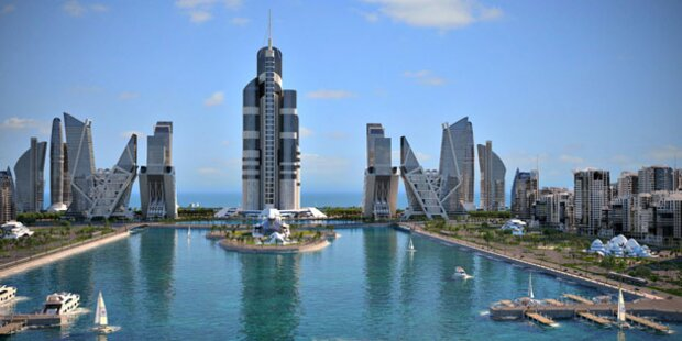 Aserbaidschan plant höchsten Turm der Welt