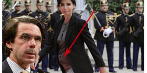 Ist Aznar Vater von Datis Kind?
