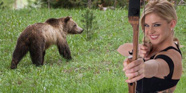 Miss Kansas knallt aus Versehen Bären ab
