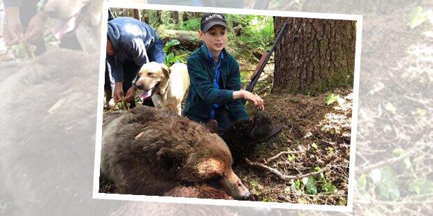 Bub erschießt Bär – damit rettete er seine ganze Familie