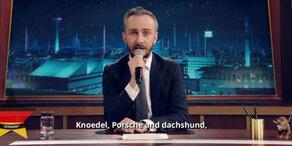 Böhmermann-Countdown: Europasong statt Enthüllung
