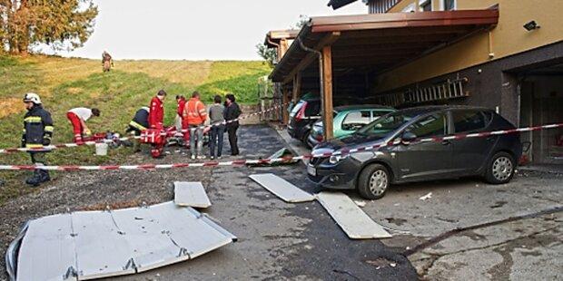 Explosion beim Böllerbasteln in OÖ