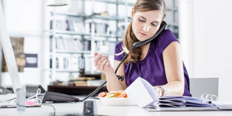 So essen Sie auch im Büro gesund
