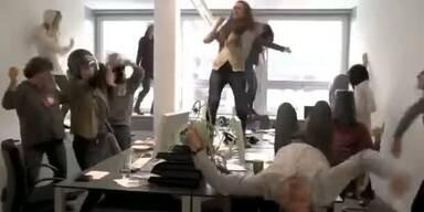 Harlem Shake im Büro