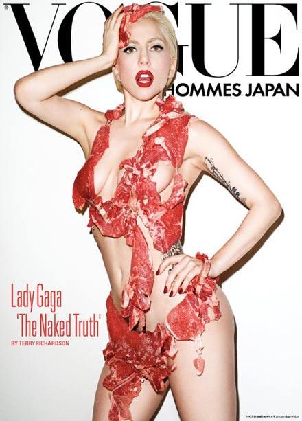 Lady Gaga: Schock-Foto in der japanischen Vogue Hommes