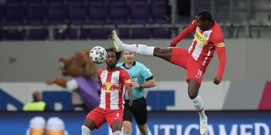 Salzburg gegen Austria sieglos