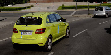 Daimler baut ab 2014 Brennstoffzellenautos