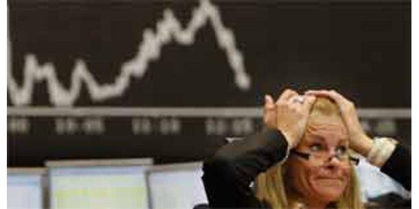 Aktienkurse in Europa weiter auf Talfahrt