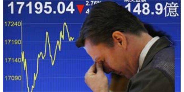 Weltweiter Kurssturz an den Börsen