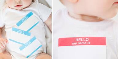 Das sind die beliebtesten Babynamen