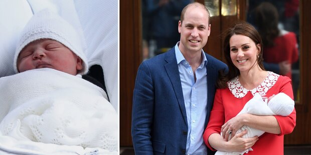 Prinz Louis: So wird seine Taufe