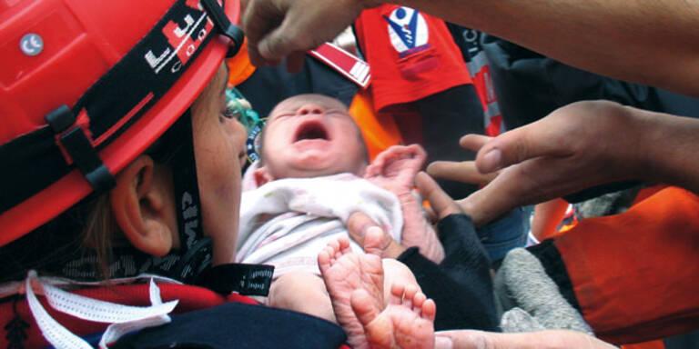Türkei-Erdbeben: Das Baby-Wunder