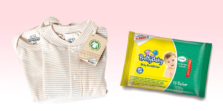 Bio-Babykleidung aus Baumwolle