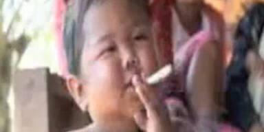 2-jähriger Kettenraucher schafft Entzug