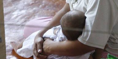 Frau erhielt gestohlenes Baby zurück