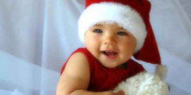 Weihnachtszeit beschert Baby-Boom